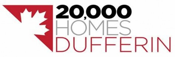 20,000 Homes Dufferin logo