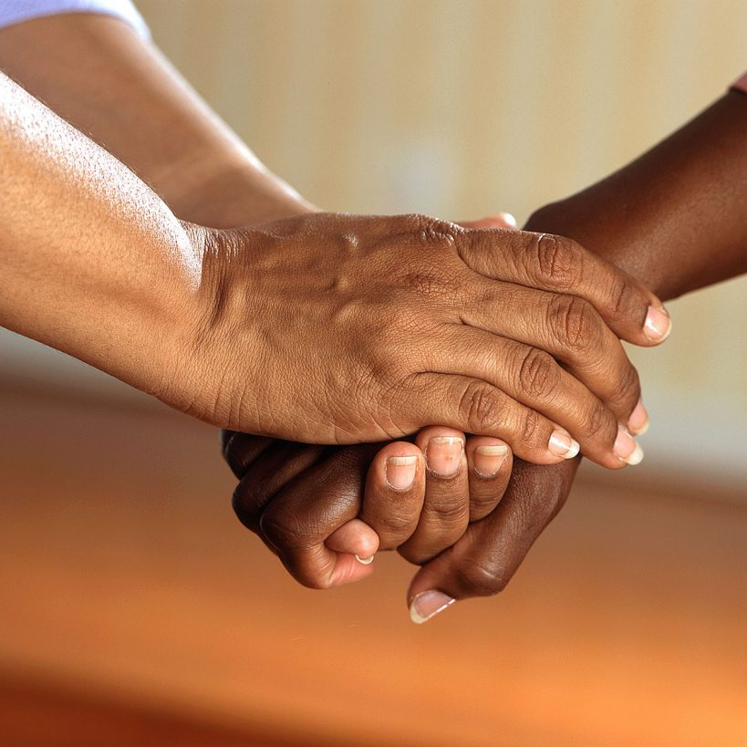 Image of hand-holding
